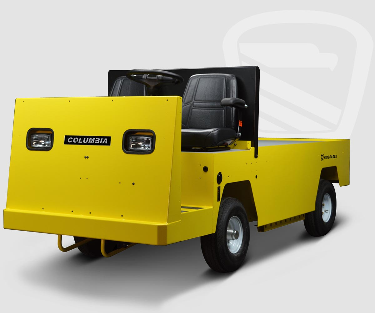 payloader electric vehicle for carrying, towing \u0026 material handling
